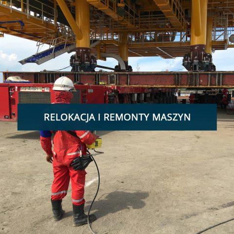 Relokacje i remonty maszyn
